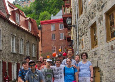 Vieux Québec 16 juillet